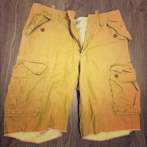 Polo Ralph Lauren Tan Cargo Shorts Size 31